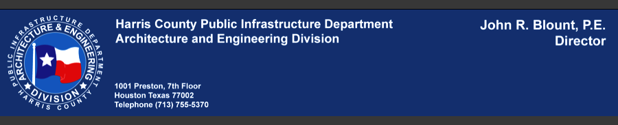 Public Infrastructure Department, Harris County, Texas